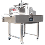 Beldos, slicer, belslice, press slicer, slicing machine , perfect cutting, horizontal cutting of rectangular sponge , horizontal cutting of square sponge , horizontal cutting of round sponge,