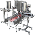 Bakery and Food Depositors,Injecting Machines,Filling Machines,Transfer Pumps,Slicers,Multi Piston Depositors, Syrup Spraying Equipment and Cake Lines