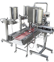 beldos depositors, depositor ,mini-fill, filling machine, injecting machine , cake lines, semi-automatic cake production, cake production, production of cakes , custom made, slicing of cakes, syrup spraying of cakes, icing of cakes, icing of middle layers, top icing of cakes, side icing of cakes, decoration of cakes, artisanal bakery, industrial bakery, cakes decoration , cake production , machine for cakes